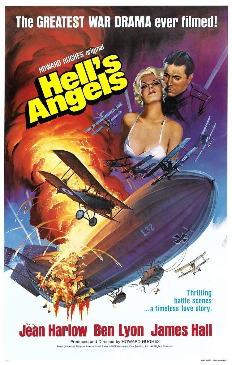 Hell's Angels (film) Hells Angels Movie Poster IMP Awards