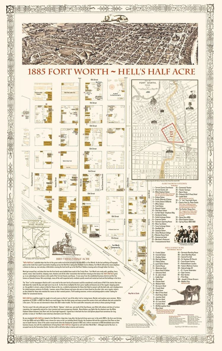 Hell's Half Acre (Fort Worth) The Fort Worth Gazette Where The Heck Was Hell39s Half Acre