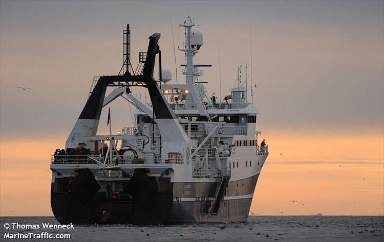 Helmer Hanssen HELMER HANSSEN Trawler current position and details
