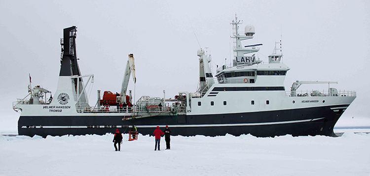 Helmer Hanssen Research vessel Helmer Hanssen CAGE CAGE
