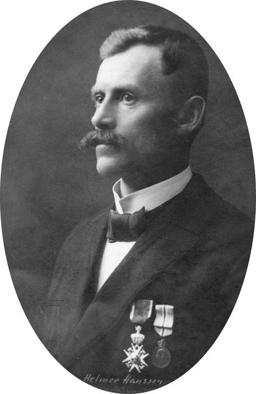 Helmer Hanssen Did you know that Helmer Hanssen accompanied Roald Amundsen on three