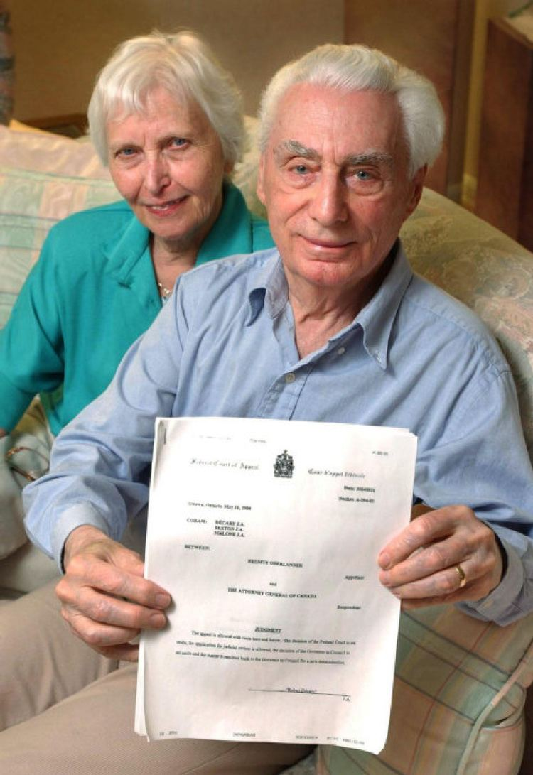 Helmut Oberlander Ukrainian Canadian stripped of citizenship over connection to Nazi