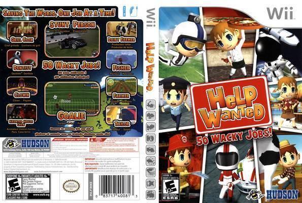 Help Wanted (video game) wwwcovershutcomcoversHelpWantedFrontCover9