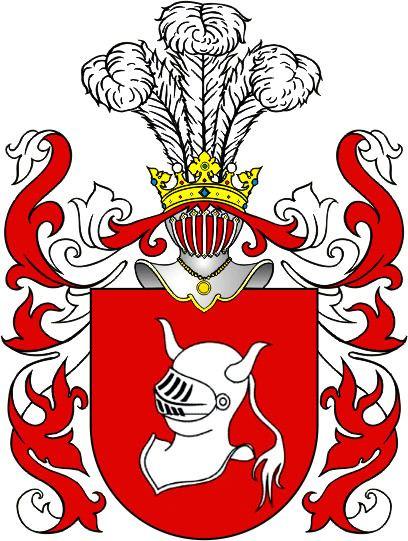 Hełm coat of arms