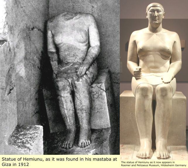 Hemiunu 1000 images about Hemiunu on Pinterest Fine art Statue of and