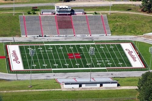 Henderson State Reddies football Henderson State University Football Field College Cathedrals