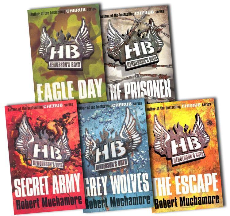 Henderson's Boys Hendersons Boys Collection Robert Muchamore 5 Books Set Pack The