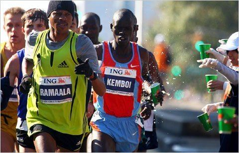 Hendrick Ramaala An Elite Athlete Training Without a Coach The New York Times