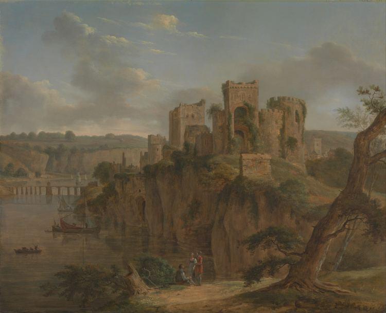 Hendrik Frans de Cort FileHendrik Frans de Cort Chepstow Castle Google Art Project