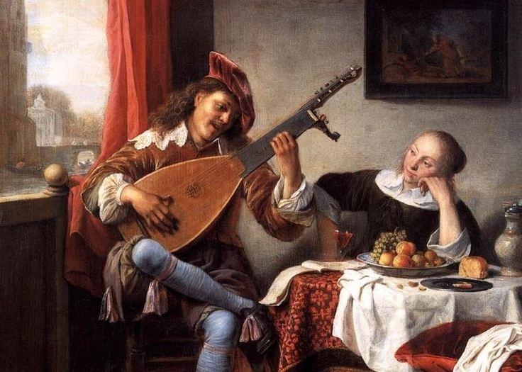 Hendrik Martenszoon Sorgh Hendrik Martensz Sorgh 1611 1670 The lute player
