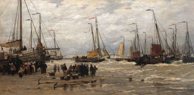 Hendrik Willem Mesdag Hendrik Willem Mesdag his seascapes and Panorama Mesdag my daily