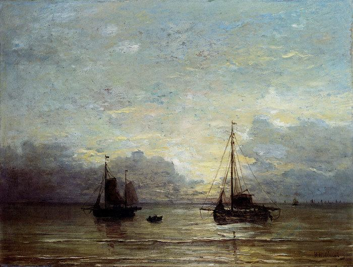 Hendrik Willem Mesdag Hendrik Willem Mesdag Paintings Reproductions 1