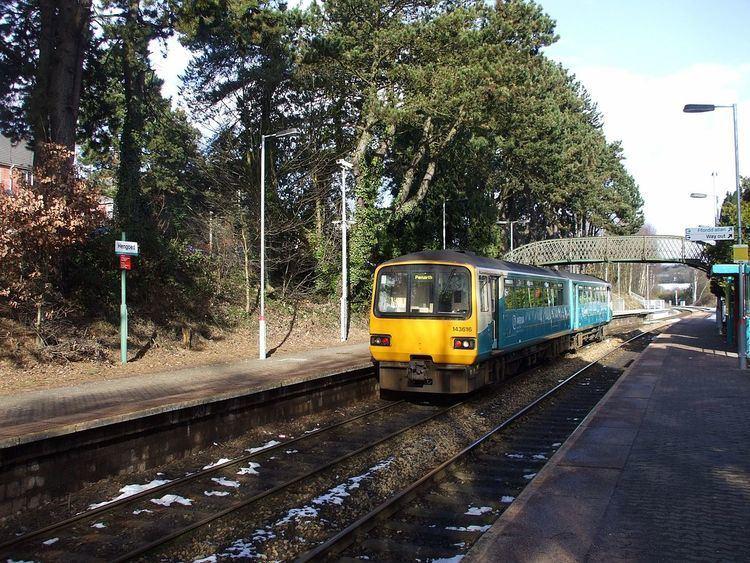 Hengoed railway station