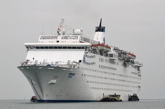 Henna (ship) Henna cruise ship photos HNA Tourism Cruises wwwShipParadecom