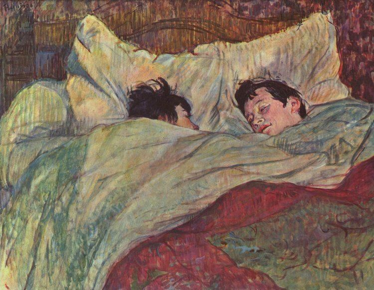 Henri de Toulouse-Lautrec In bed Henri de ToulouseLautrec WikiArtorg