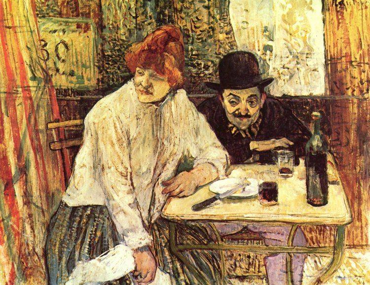 Henri de Toulouse-Lautrec The Last Crumbs In The Restaurant La Mie Henri de