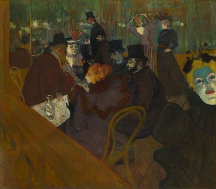 Henri de Toulouse-Lautrec FileHenri de ToulouseLautrec At the Moulin Rouge