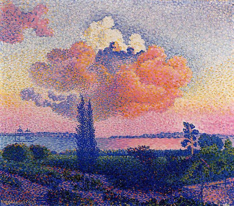 Henri-Edmond Cross The Pink Cloud HenriEdmond Cross WikiArtorg