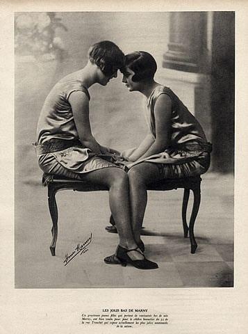 Henri Manuel Marny Stockings Advert c1925 photo by Henri Manuel Fashion