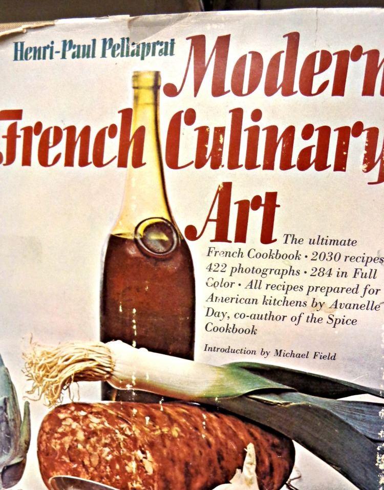 Henri-Paul Pellaprat French cookbook Cover HenriPaul Pellaprat 1966 Henris Modern