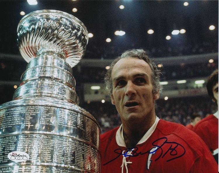 Henri Richard Henri Richard Autographed Montreal Canadiens 8x10 Photo JSA