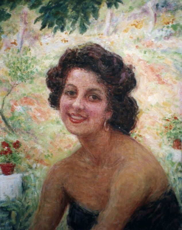 Henri Vincent-Anglade henrivincentangladeportraitdyvettevincentangladehuilesurtoilejpg