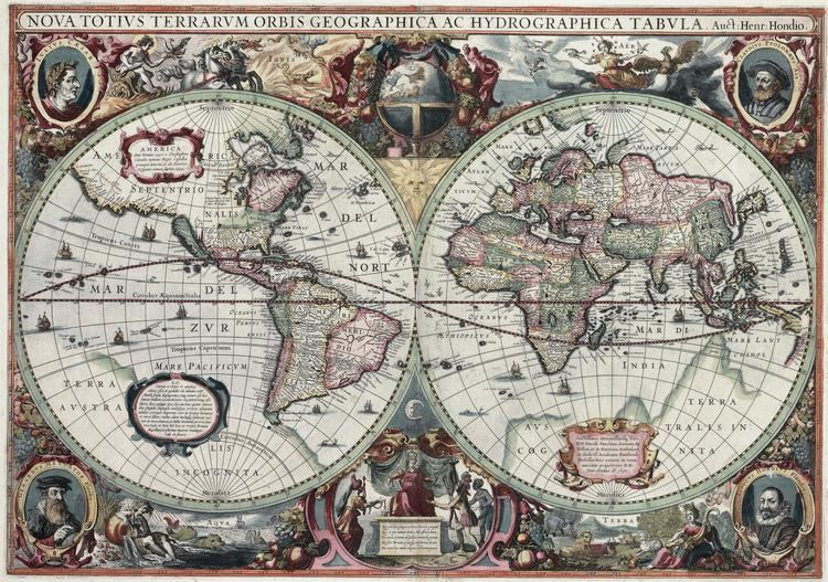 Henricus Hondius II Henricus Hondius II Biography Cartographer Publisher Netherlands