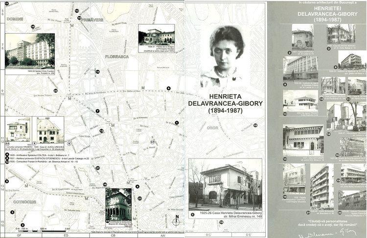Henrieta Delavrancea Henrieta DELAVRANCEAGIBORY 18941987 Arhitectura 1906