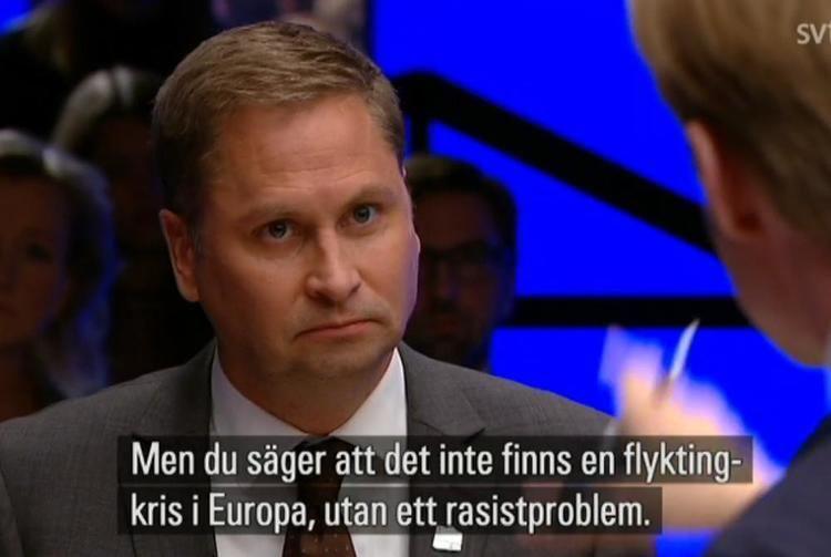 Henrik Arnstad Henrik Arnstad i debatt om flyktingar alla tokigheter listas hr