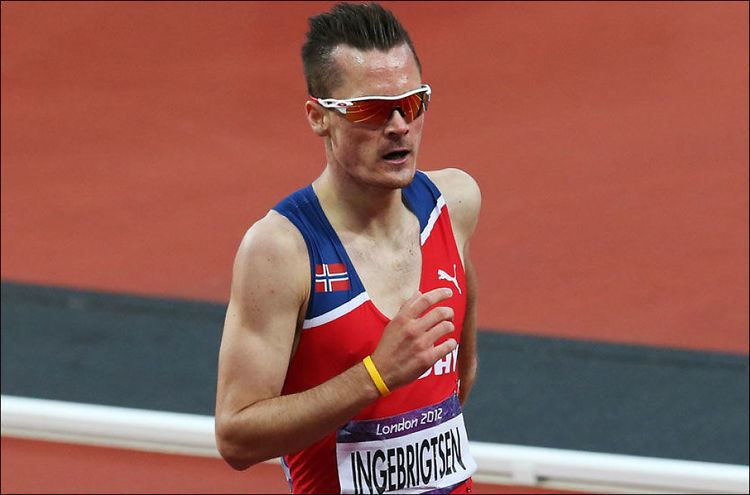 Henrik Ingebrigtsen Ny norsk rekord for Ingebrigtsen i OLfinalen OL 2012 VG