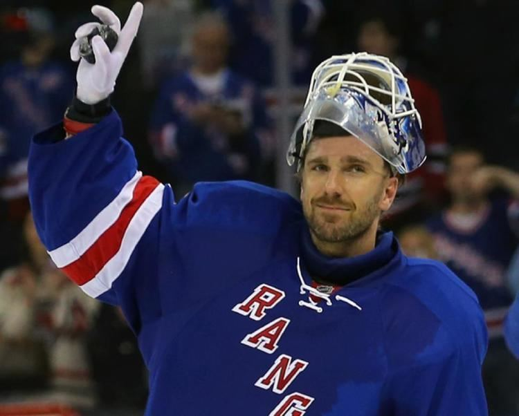 Henrik Lundqvist From stopping pucks to changing diapers Henrik pure