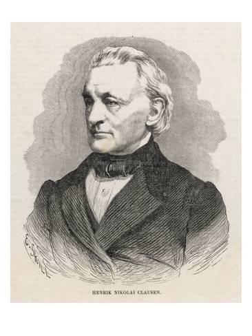 Henrik Nicolai Clausen Henrik Nicolai Clausen Danish Theologian and Statesman Giclee Print