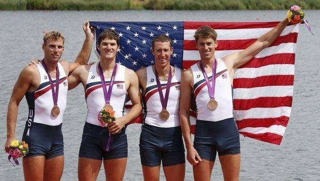 Henrik Rummel US medal winners Rowing L39wren Scott and Bronze