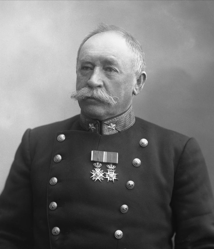 Henrik Steffens Hagerup Portrett Henrik Steffens Hagerup i uniform som general Norsk