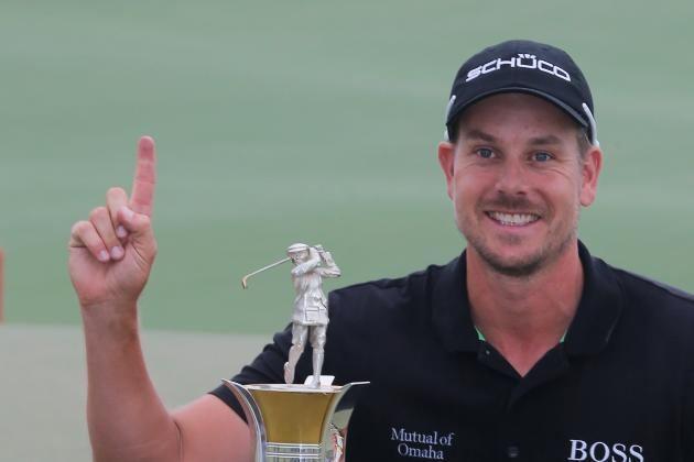 Henrik Stenson Henrik Stenson First Golfer to Win Race to Dubai and FedEx