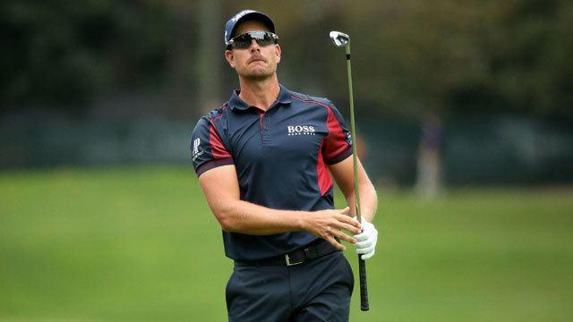 Henrik Stenson Henrik Stenson leads by two at Tour Championship Jason Day six back