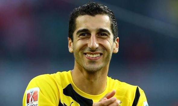 Henrikh Mkhitaryan Why Henrikh Mkhitaryan39s Dortmund move could spell