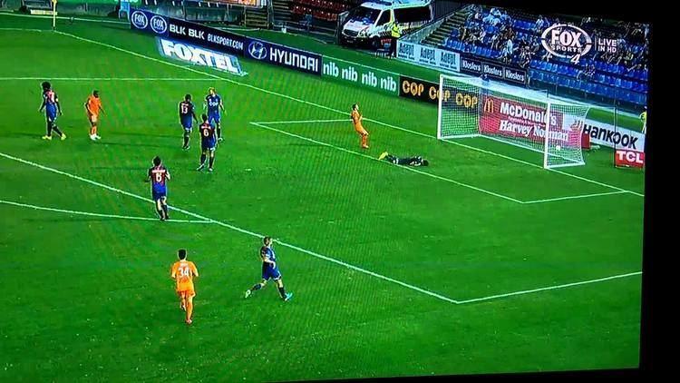 Henrique Andrade Silva Henrique Andrade Silva Third Goal Brisbane Roar Vs Newcastle Jets