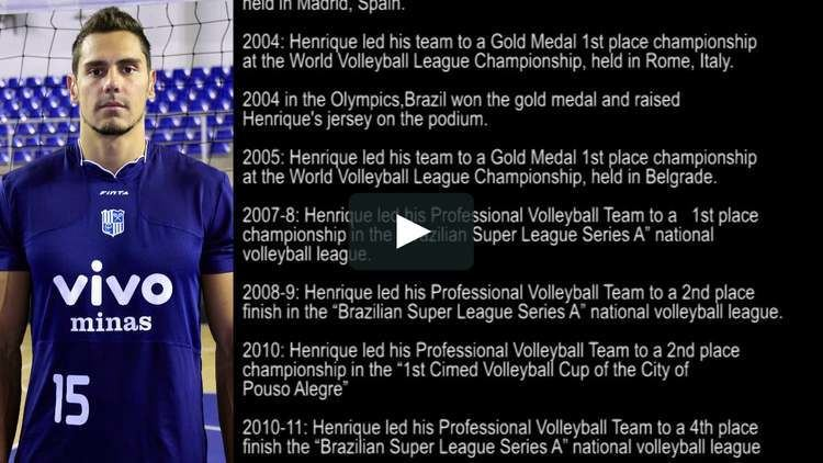 Henrique Randow Henrique Randow Brazilian Volleyball Player on Vimeo