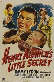 Henry Aldrich's Little Secret httpsuploadwikimediaorgwikipediaenthumba