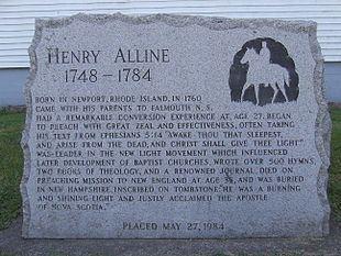 Henry Alline Henry Alline Wikipedia