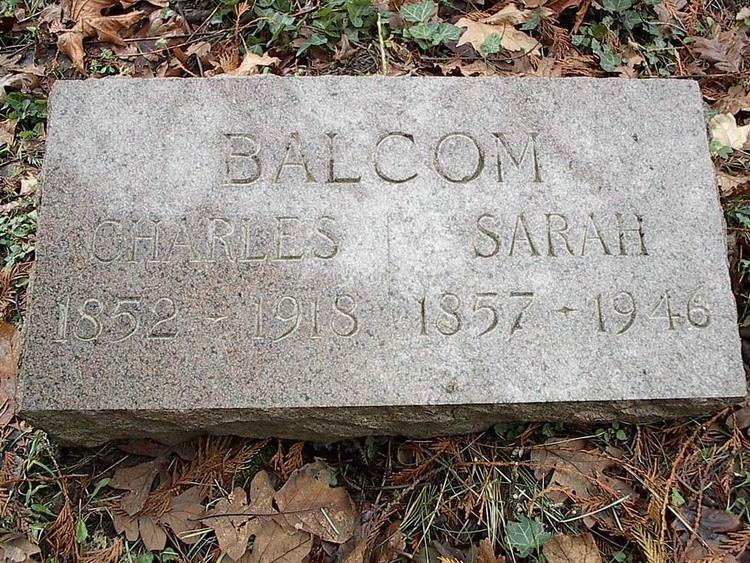 Henry Balcom Charles Henry Balcom 1852 1918 Find A Grave Memorial