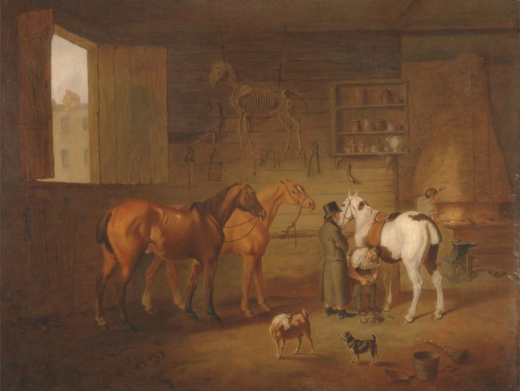 Henry Bernard Chalon FileHenry Bernard Chalon The Blacksmiths Shop Google Art