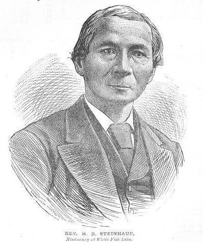 Henry Bird Steinhauer HENRY BIRD STEINHAUER Wesleyan Methodist Minister Missionary