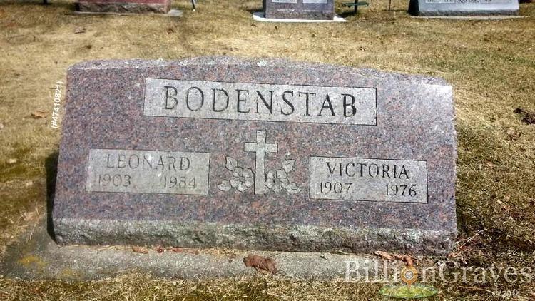 Henry Bodenstab Leonard Henry Bodenstab 1903 1984 Find A Grave Memorial