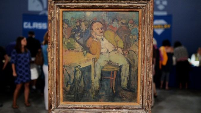Henry Botkin Henry Botkin Oil Painting ca 1935 Antiques Roadshow PBS