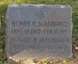 Henry C. Magruder Henry C Magruder Jessie Harvey Our Family Tree