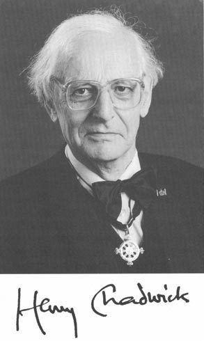 Henry Chadwick (theologian) wwwrelatablycomqimghenrychadwickquoteschad