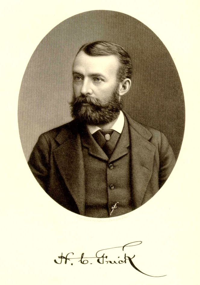 Henry Clay Frick Henry Clay Frick circa 1871 Local Pinterest Henry clay