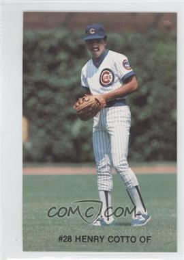 Henry Cotto 1984 7up Chicago Cubs Base 28 Henry Cotto COMC Card Marketplace